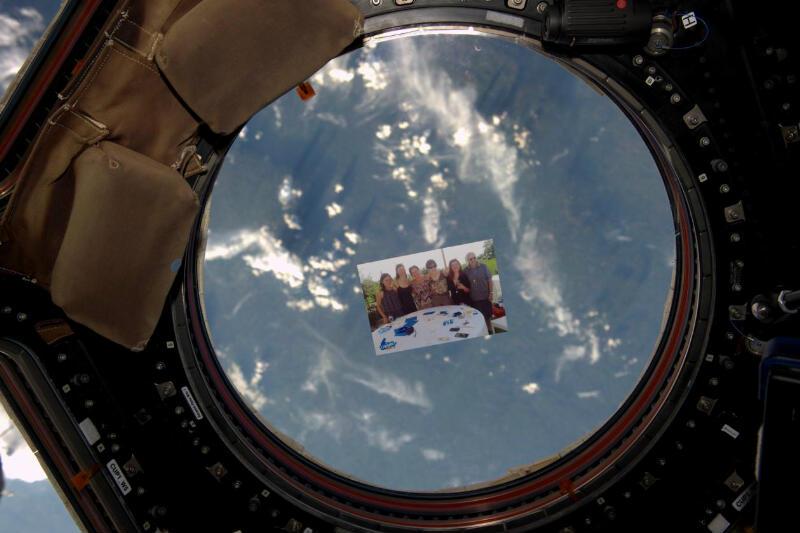 La foto che Samantha Cristoforetti ha fatto vedere dallo spazio
