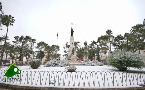 Piazza Alighieri a Galatina