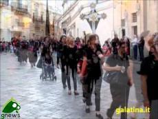 Galatina. Festa dei Santi Pietro e Paolo, la partenza della processione
