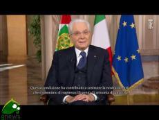 Messaggio di fine anno del Presidente della Repubblica Sergio Mattarella (con sottotitoli)