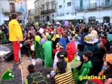 Carnevale di Galatina 2014. Ottomila in piazza San Pietro