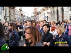 Galatina. Processione dell'Addolorata 2017