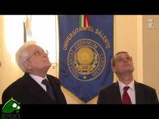 Intervento del Presidente Mattarella all'Università del Salento