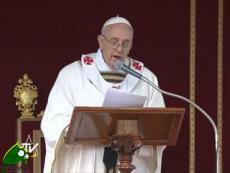 Papa Francesco: non temete la bontà, il potere è servizio