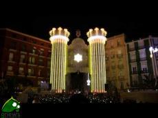 """Valencia 2014 1° Premio Calle Illuminada"" vinto da luminarie ""De Cagna""."