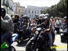 "Galatina, Motoraduno ""La Taranta"". I centauri"