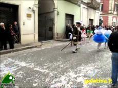 Carnevale di Galatina 2014. La sfilata