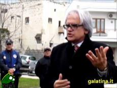 Galatina. Inaugurazione del monumento ad Aldo Vallone