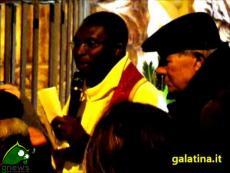 Galatina. La Chiamata della Madonna, al Calvario