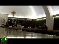Galatina. Consegna delle onorificenze ai figli dell'artigliere Luigi Serra