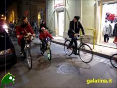 Galatina. La biciclettata di Natale di Bicivetta