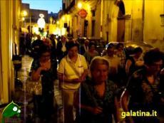 Galatina, processione di San Luigi Gonzaga