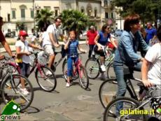 Galatina. Bicincittà 2013, il ritorno in Piazza San Pietro
