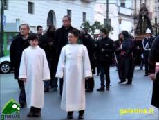 Galatina. Processione dell'Addolorata (la partenza)
