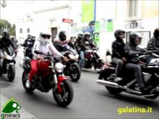 Galatina, Motoraduno 2013. Partenza per Santa Maria di Leuca
