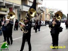 Galatina, processione dell'Addolorata