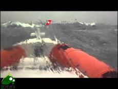 Alghero. Soccorso regata 900 nautiques di Saint Tropez