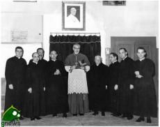 La Collegiata di Galatina con mons. Gaetano Pollio