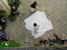 Tarantata a Palazzo Tondi (foto di repertorio)