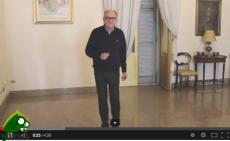 Il sindaco di Galatina Cosimo Montagna nel video Happy