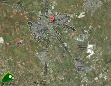 Galatina e Sogliano Cavour su Google maps