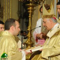 don Alessandro Mele, mons. Domenico Umberto D'Ambrosio