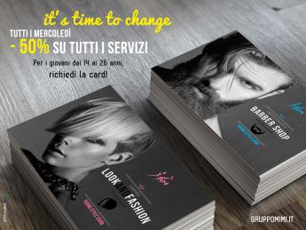 young style card gruppo mimì